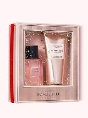 Bộ Quà Tặng Victoria Secret BOMBSHELL SEDUCTION Mist & Body Lotion Perfume GIFT SET