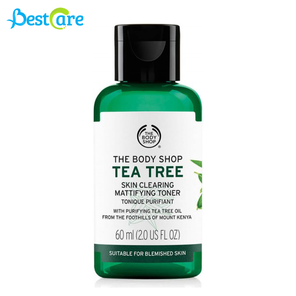 Nước Hoa Hồng The Body Shop Skin Clearing Mattifying Toner Tea Tree 60ml