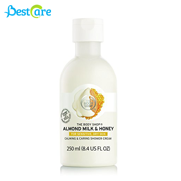 Sữa tắm The Body Shop Almond Milk & Honey  250ml