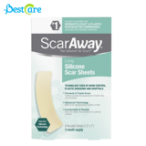 Miếng dán trị sẹo Scaraway Silicone Scar Sheet, 6 Miếng