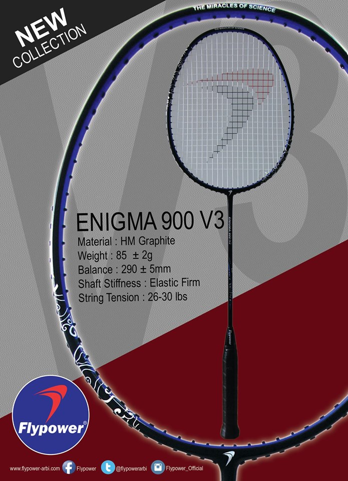 Vợt cầu lông Flypower Enigma 900 V3