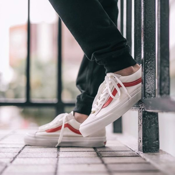 [ VN0A3DZ3OXS ] Vans Style 36 Marshmallow Red