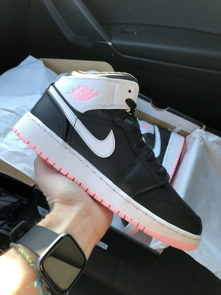 [ 555112-061 ] Air Jordan 1 Mid GS 'Arctic Punch'