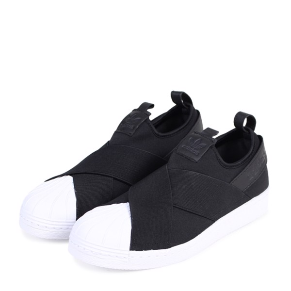 [ BZ0112 ] adidas Slip On ' Black '