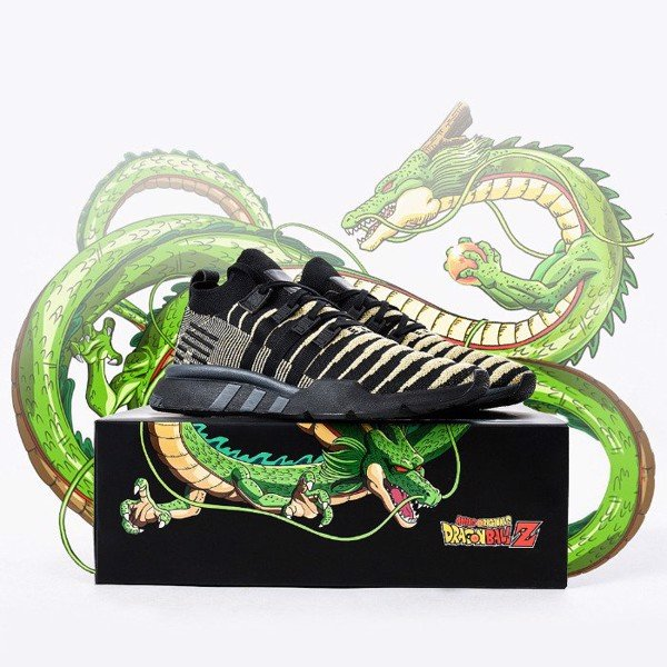 [ DB2933 ] adidas Dragon Ball Z x EQT Support Mid ADV Primeknit 'Super Shenron' Black