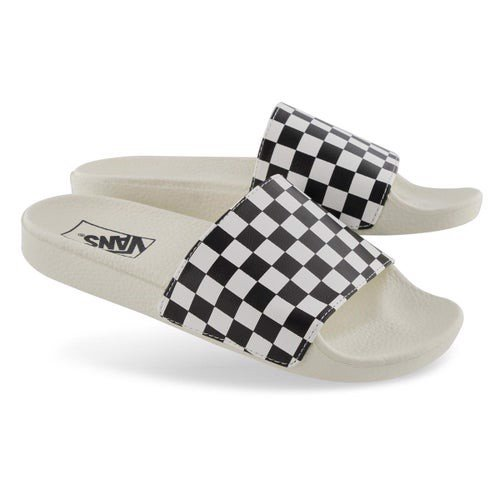 [ VN0A38EHQ40 ] Vans Slides CHECKERBOARD