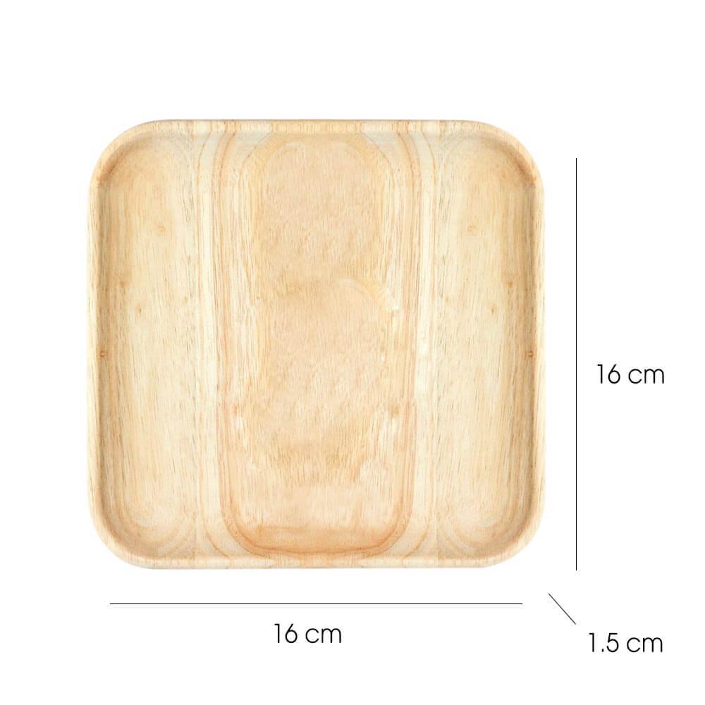 Khay gỗ hình vuông   Gỗ Đức Thành - SS2.03222