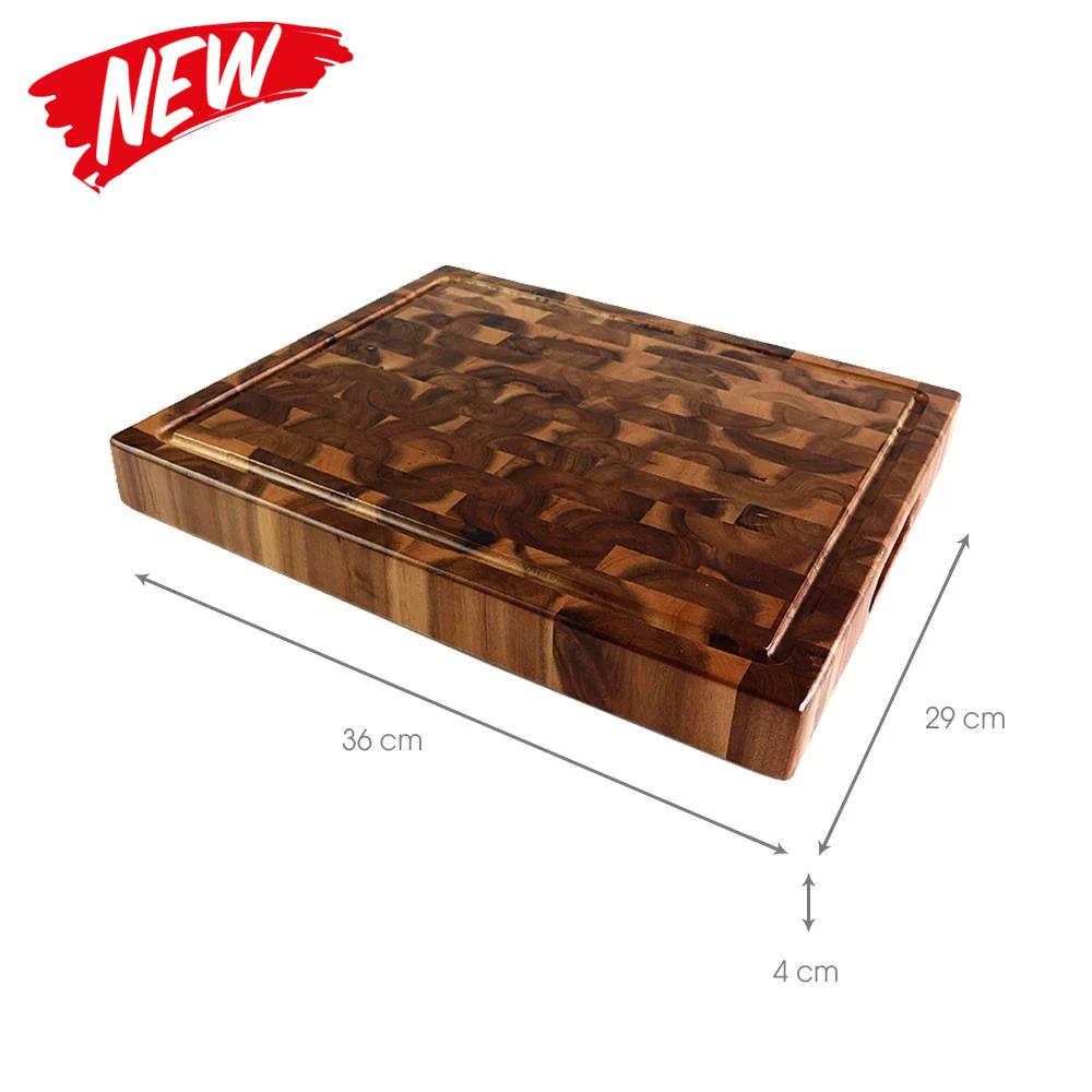 Thớt sớ lật gỗ tràm hình chữ nhật   Gỗ Đức Thành - 16051