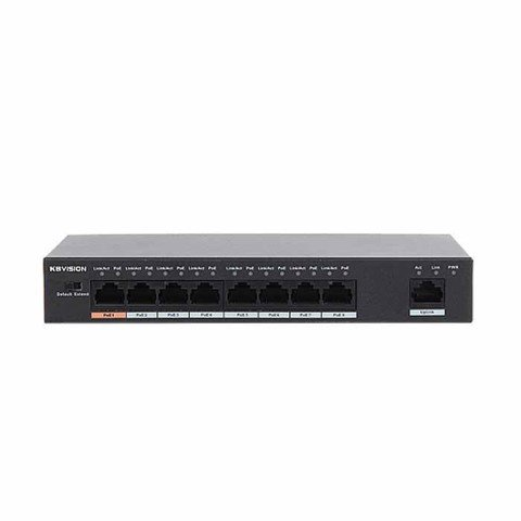 Switch Poe 8 port 10/100Mbps KBVISION KX-SW08P1