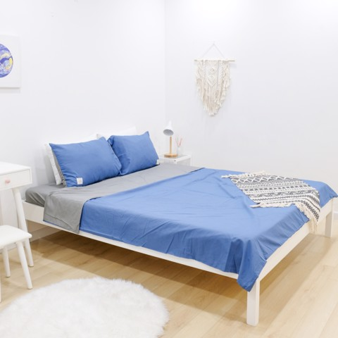 GIƯỜNG NGỦ BEYOURs ACEP BED WHITE