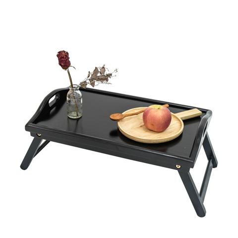 BÀN ĂN MINI BED TRAY BLACK