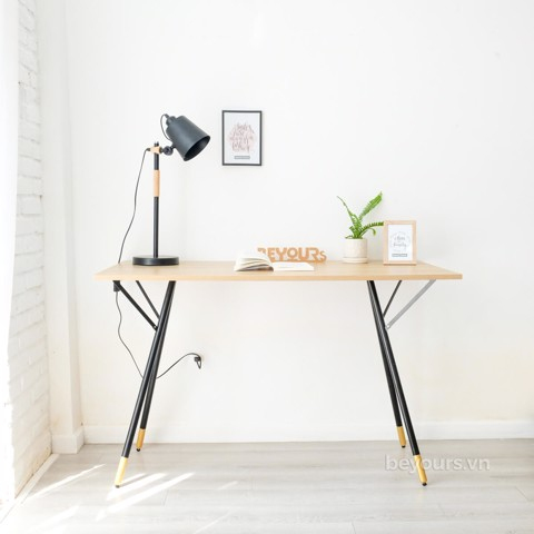 BÀN LÀM VIỆC SIMPLE TABLE D60 NATURAL BLACK
