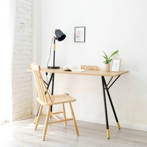 BÀN LÀM VIỆC SIMPLE TABLE D50 NATURAL BLACK