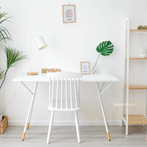 BÀN LÀM VIỆC SIMPLE TABLE D50 WHITE