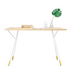 Bàn Làm Việc Simple Table D50 Natural White