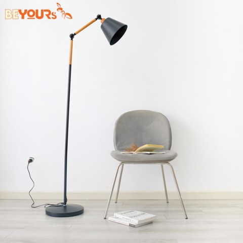 ĐÈN SÀN B CHIN LAMP HIGH BLACK