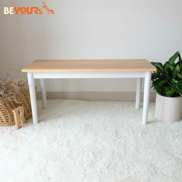 GHẾ ĂN NARI BENCH STOOL SIZE S WHITE NATURAL
