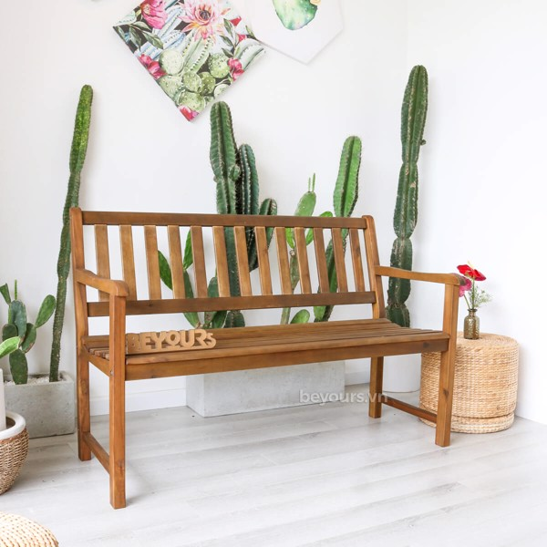 GHẾ BENCH WOOD OD.01 BROWN
