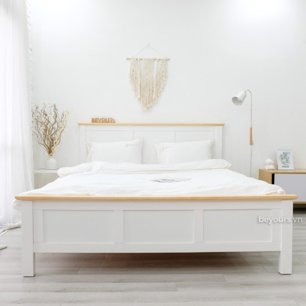 GIƯỜNG NGỦ FREEZING FOG BED 1.8 x 2M NATURAL WHITE