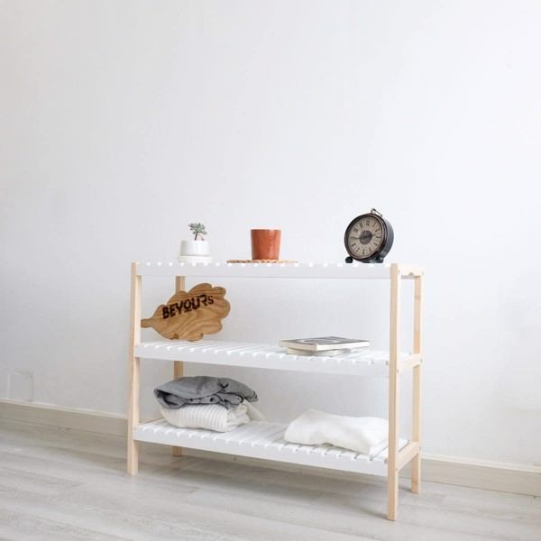 KỆ GIÀY DÉP BEYOURs BENCH 3FM NATURAL WHITE