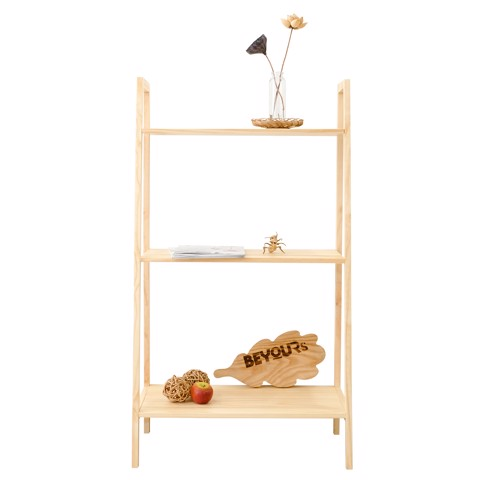 KỆ SÁCH A BOOK SHELF 3FL NATURAL