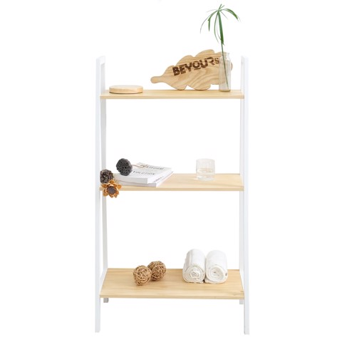 KỆ SÁCH A BOOK SHELF 3FL NATURAL WHITE