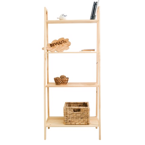 KỆ SÁCH A BOOK SHELF 4FL NATURAL