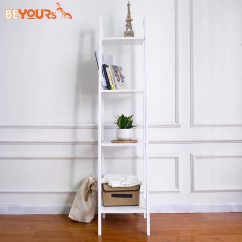 KỆ SÁCH A BOOK SHELF 4FS WHITE