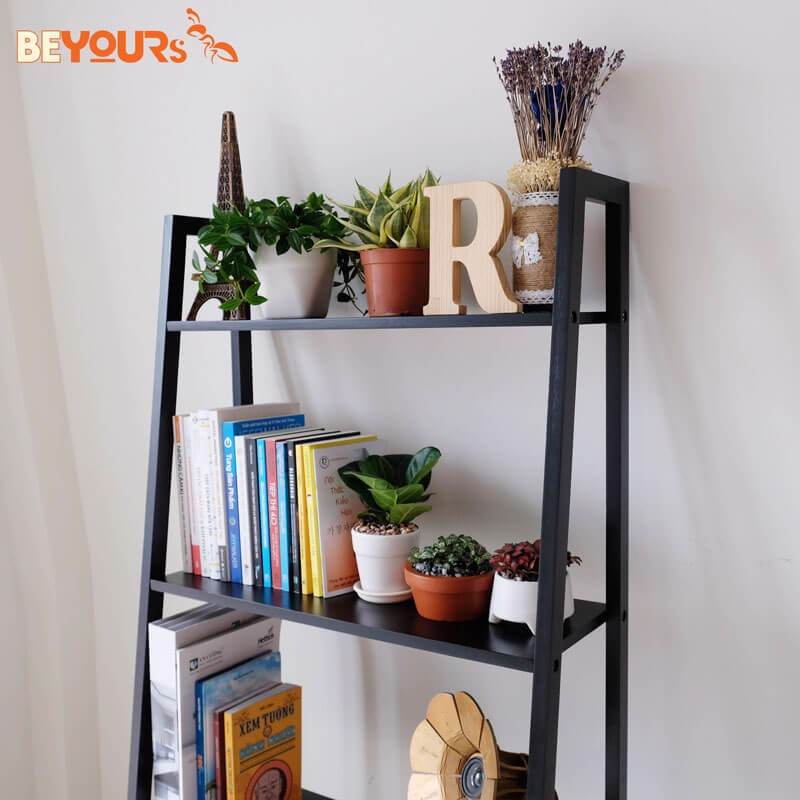 KỆ SÁCH BEYOURs A BOOK SHELF 4FL BLACK