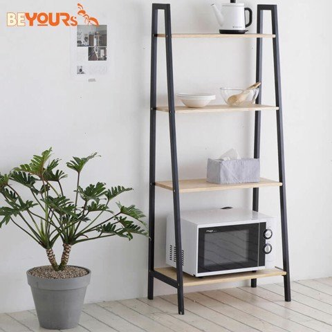 KỆ SÁCH A BOOK SHELF 4FL NATURAL BLACK