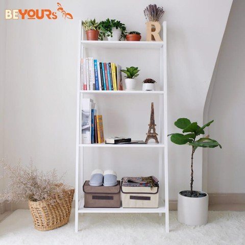 KỆ SÁCH A BOOK SHELF 4FL WHITE