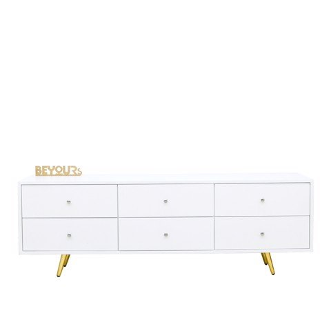 KỆ TIVI SENA TV SHELF WHITE