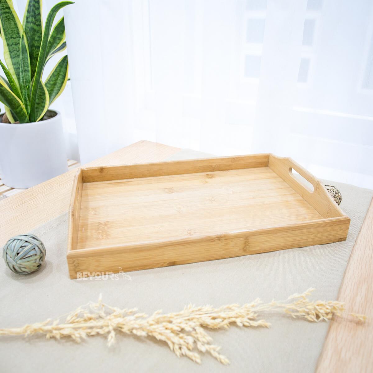 Khay Trà gỗ tự nhiên