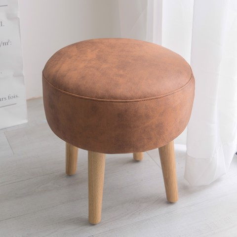 CHUBBY STOOL ORANGE | GHẾ ĐÔN SOFA CAM