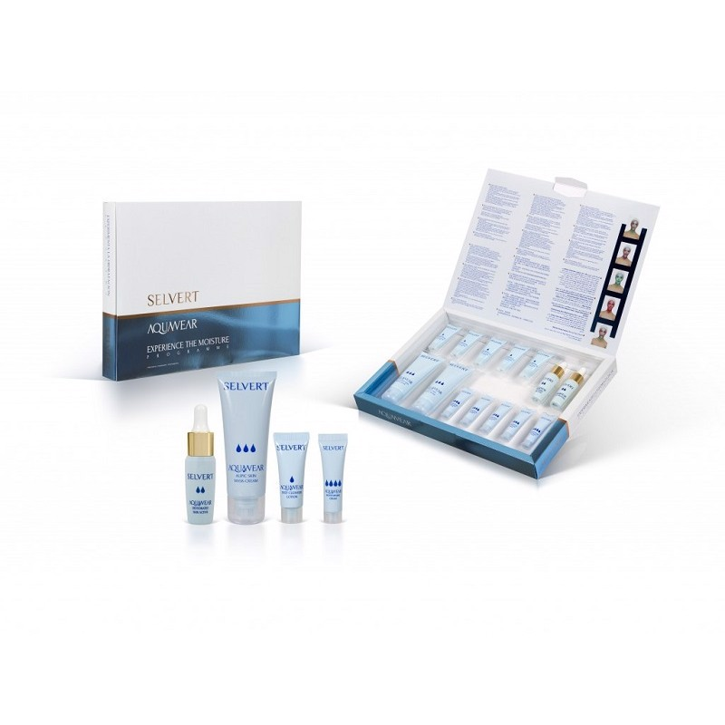 AQUAWEAR EXPERIENCE THE MOISTURE TREATMENT PACK