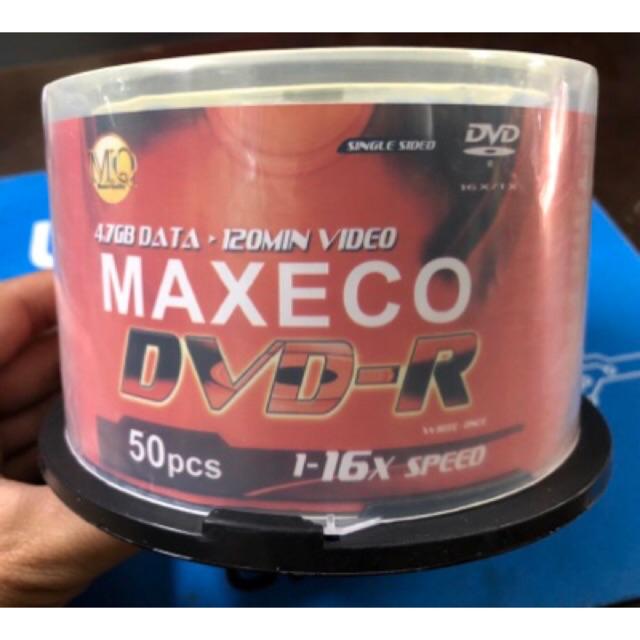 Đĩa trắng DVD Maxeco 4,7 GB