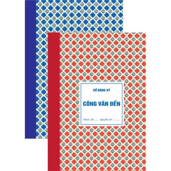 Sổ công văn đến - công văn đi Hải Tiến 6041 (160 trang)