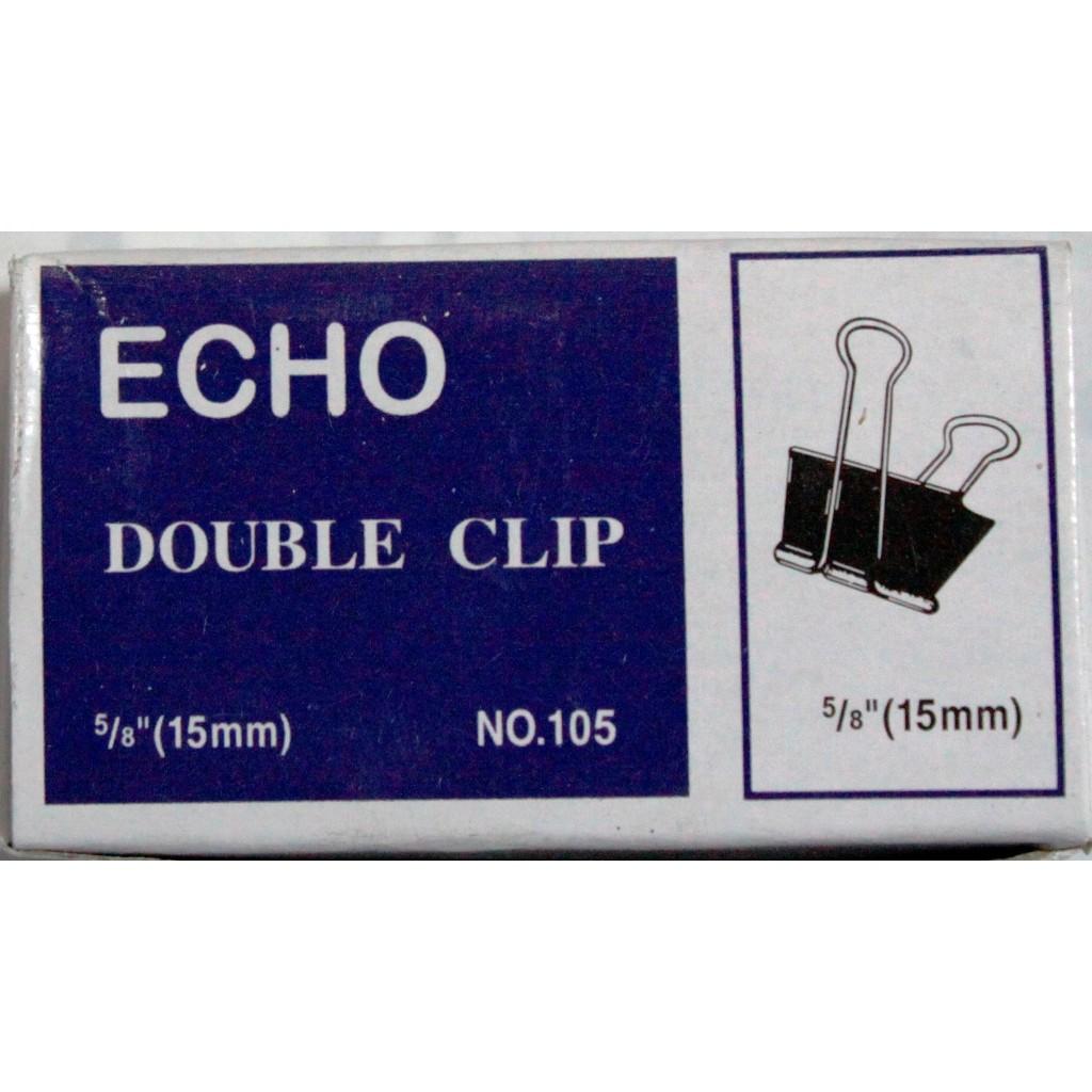 Kẹp sắt đen Echo 105 - 15mm