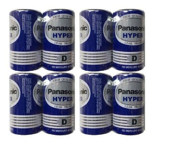Pin đại Panasonic Hyper D Carbon  R20UT/2S - Vỉ 2 viên