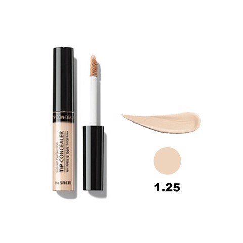 Kem che khuyết điểm The Saem Cover Perfection Tip Concealer 1.25 Light Beige (6.5g)