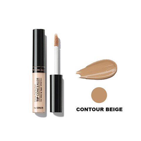 Kem che khuyết điểm The Saem Cover Perfection Tip Concealer Contour Beige (6.5g)
