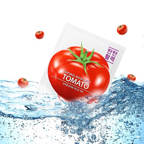 Mặt nạ Cà chua The Saem Natural Tomato Mask Sheet 21ml