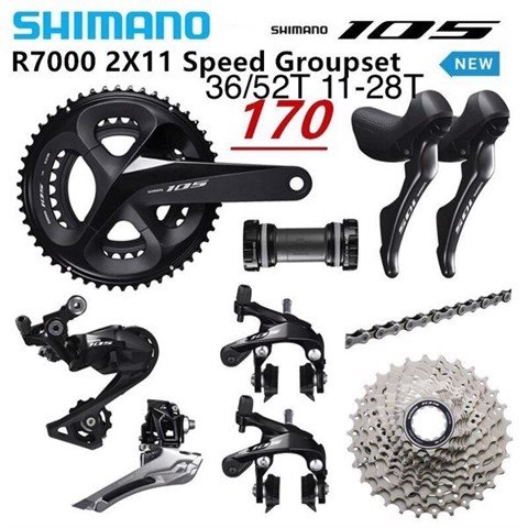 Bộ group Shimano 105 R7000
