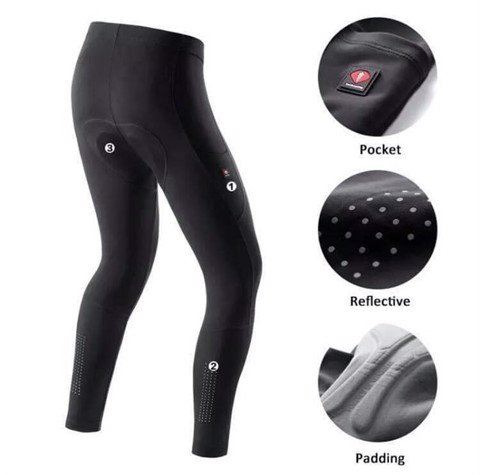QBD Santic Mens cycling Pants