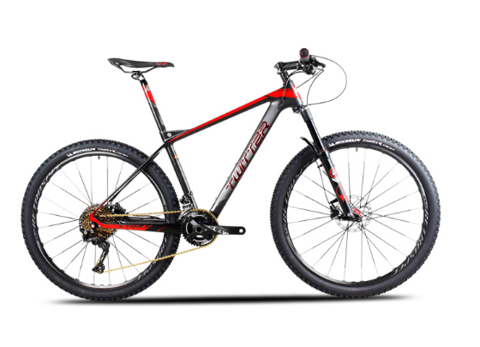 Xe MTB Twitter Stricker khung carbon group XT M8000 3*11speed