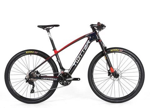 Xe MTB Twitter Leopad 2.0 carbon group deogre M6000 3*10 speed