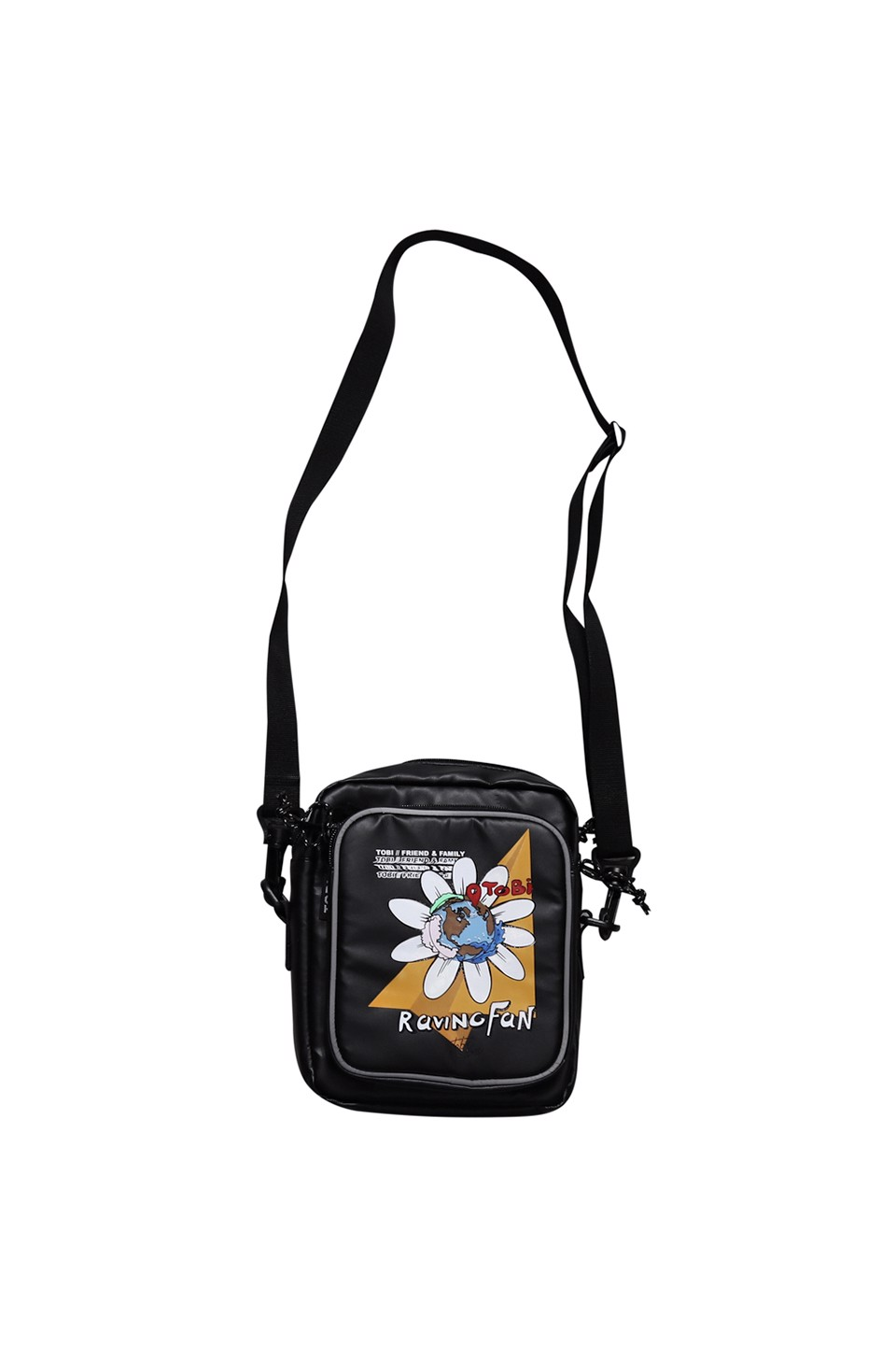 Raving Fans Shoulder Bag - Black