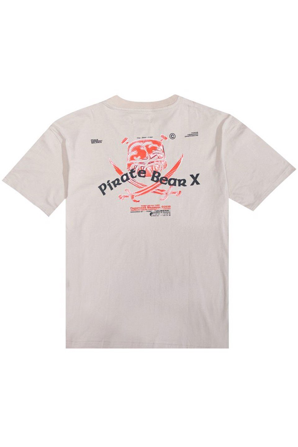 Pirate Tee - Beige