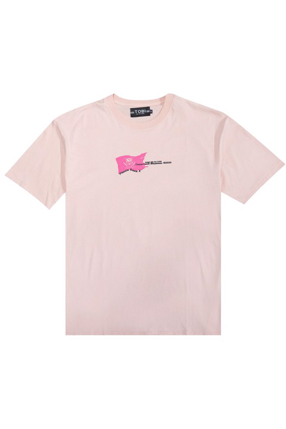 Pirate Tee - Pink