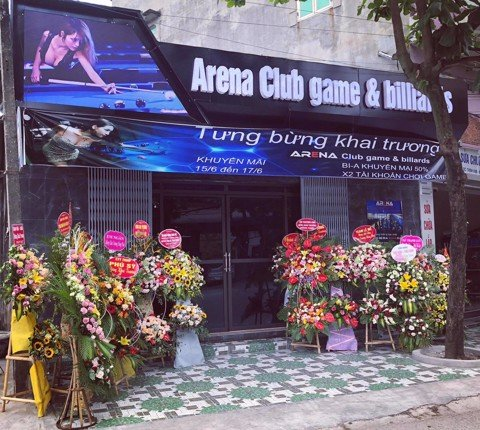 Dự Án ARENA Game & Billiards